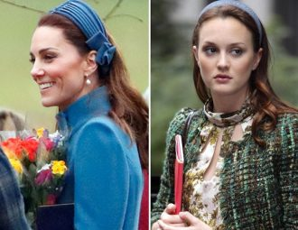 Kate Middleton Channeled Blair Waldorf for Her First Appearance of 2019